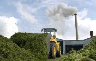 Minder productie bij grasdrogerijen