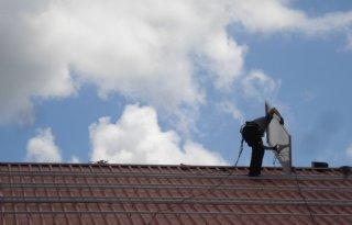 Eerste zonnepanelen geplaatst in Espel