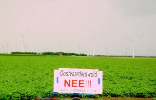 GS Flevoland wil klein Oostvaarderswold