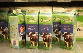 Inkomen biologische melkveehouder lager