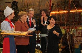 Dijksma en Merkel openen Grüne Woche