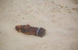 Projectiel gevonden tijdens maïs zaaien