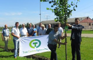 Eerste boom Expo TCO aangeplant