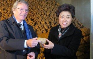 Aardappelcontact+Emmeloord+en+China
