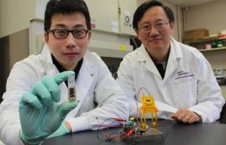 Batterij op suiker ontwikkeld