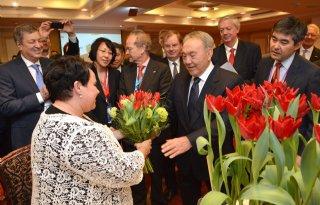 Vriendschapstulp voor Kazachstan