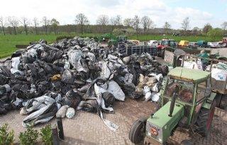 Afbreekbaar landbouwplastic valt in de prijzen