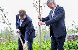 Modeltuin De Levende Tuin geopend