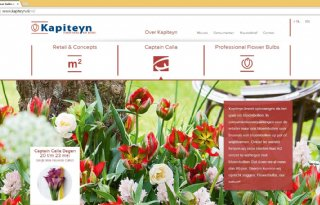 Nieuwe website Kapiteyn Flower Bulbs