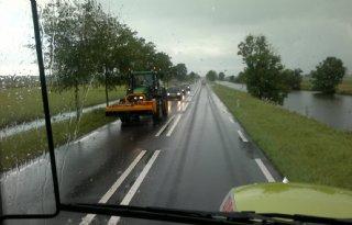 Landbouwverkeersles+leerlingen+Groningen