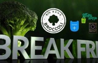 Broccoliplanten uitgedeeld in Zwolle