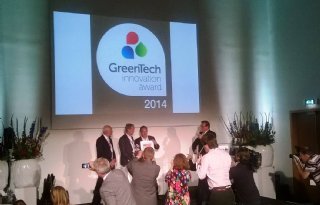 ID Kas wint GreenTech Innovation award