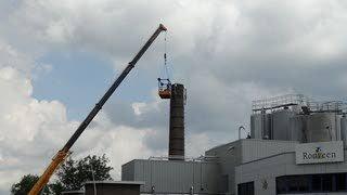 Kaasfabriek wil geen ooievaarsnest op dak