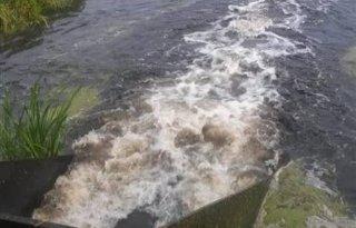 Haastrechtse waterberging stroomt vol