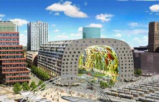 350.000 bezoekers Markthal Rotterdam