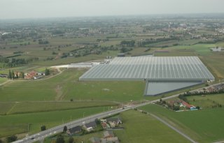 Minder landbouwbedrijven in Vlaanderen