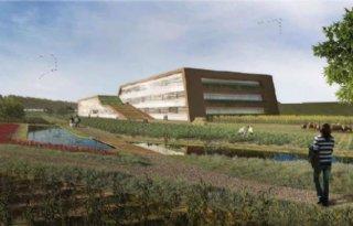 Nieuwbouw onderzoekscentrum Cosun
