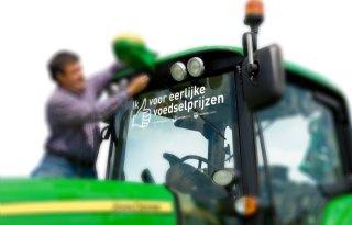 Belgische Boerenbond stickert 6000 trekkers
