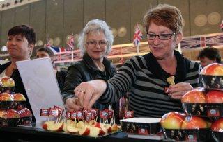 Promotie Kanzi-appel op Huishoudbeurs