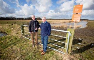 Strijden voor veilig achterland Lauwersmeer