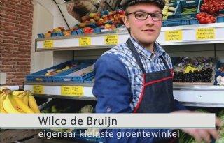 Kleinste groentewinkel van Nederland (video)