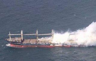 Mestschip+Noordzee+dreigt+te+exploderen