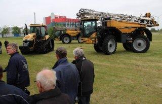 Challenger-demo in het Groningse Farmsum