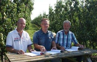 Convenant driftreductie fruitteelt in Houten