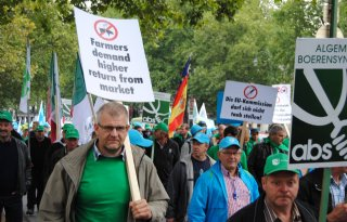Boeren 'raken' het hart van Brussel