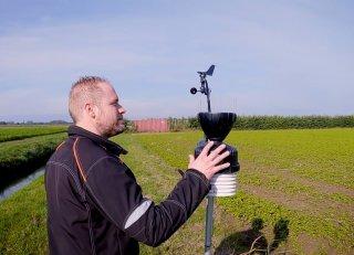 Vertrouwen op de bodemvochtsensoren van AgroExact