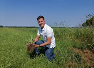 Duurzaam koeienmenu met soortenrijk grasland