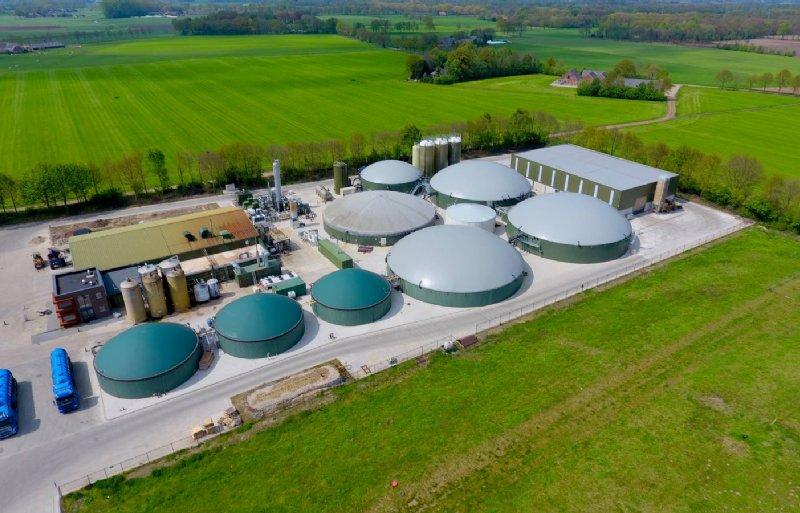 De biovergister Groot Zevert Vergisting in Beltrum produceert sinds 2004 biogas op basis van drijfmest.