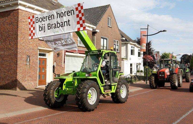 Brabantse veehouders in actie tegen het provinciale stikstofbeleid.