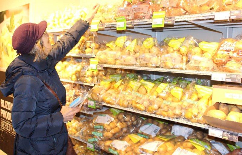 Presentatie nieuw aardappelschap bij AH