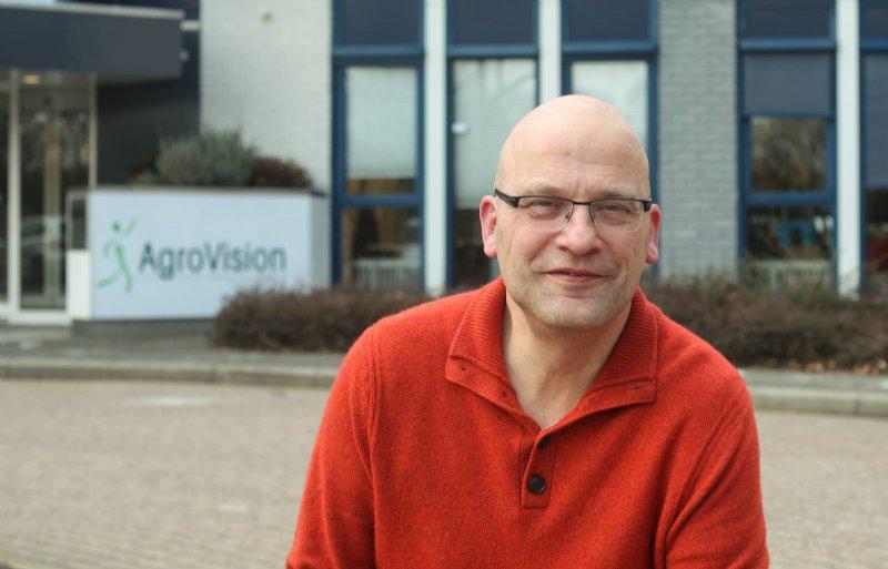 Kees Vogelaar, teeltspecialist bij AgroVision.