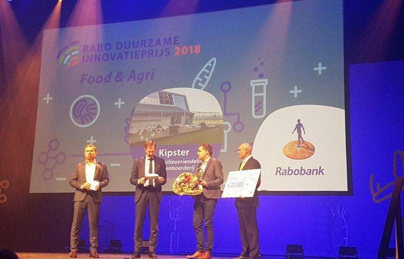 Kipster wint Duurzame Innovatieprijs Rabobank Food en Agri