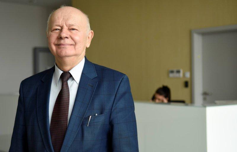 Directeur en oprichter van Samasz, Antoni Stolarski. Over vijf jaar draagt hij het stokje over aan zijn zoons.