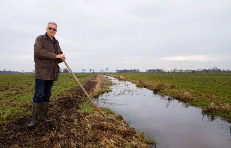 Pieter de Vries heeft een passie voor weidevogelbeheer.