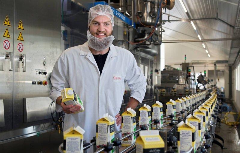 Melkveehouder en zuivelaar Willem van der Schans deed mee aan het Nuffield Scholarship.