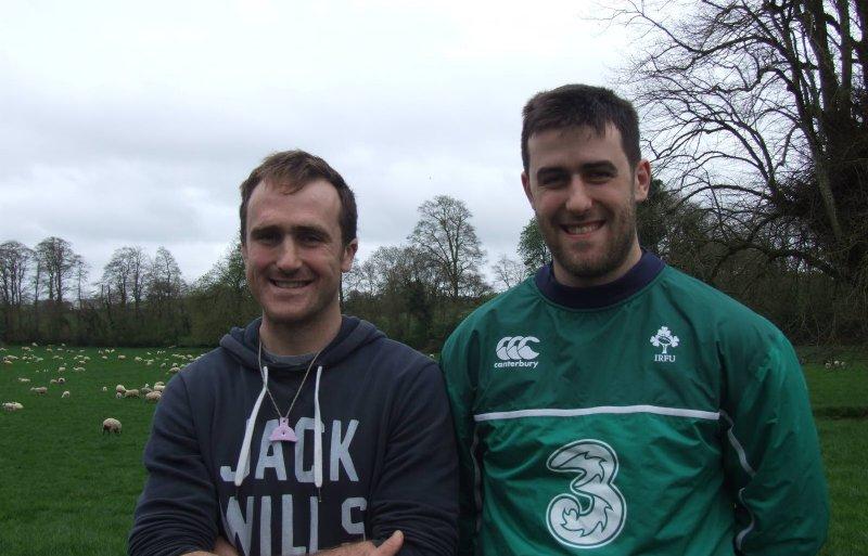 Melkschapenhouders Michael en Brendan Crosse uit het Ierse Cashel.