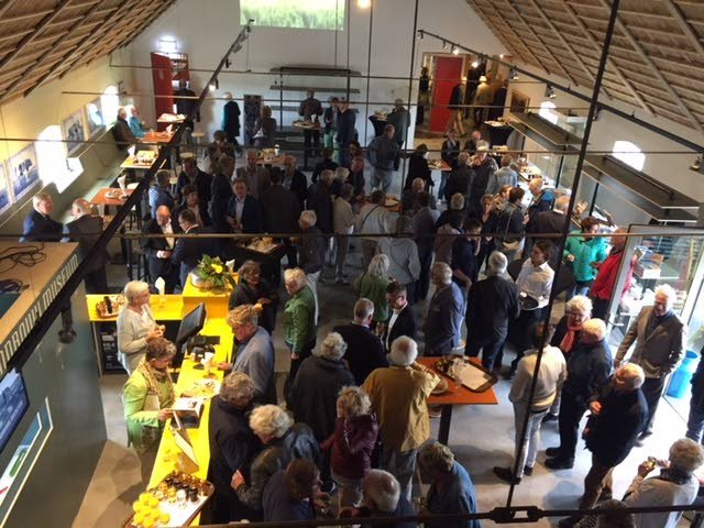 De opening in het Fries Landbouwmuseum trok 250 mensen.