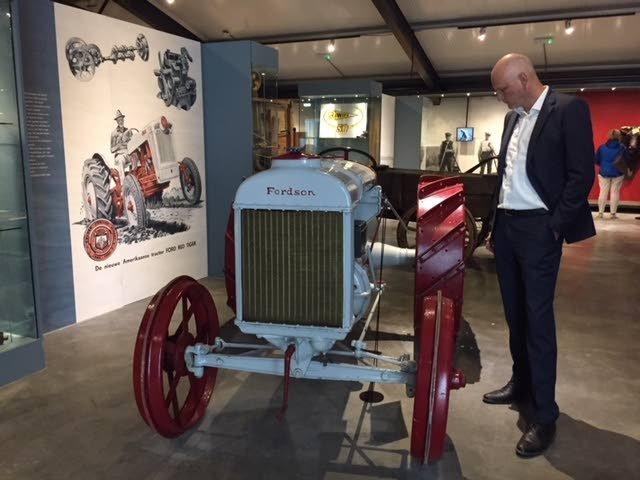 Het Fries Landbouwmuseum verhuisde van Earnewald naar Leeuwarden.