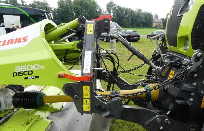De wielladers zijn het product van een samenwerking tussen Claas en Liebherr.