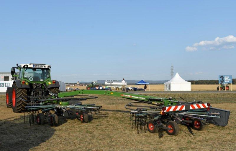 Fendt heeft nu ook een karretjeshark in het programma: de Former 1502. De machine heeft een werkbreedte van 3,60 tot 7 meter.