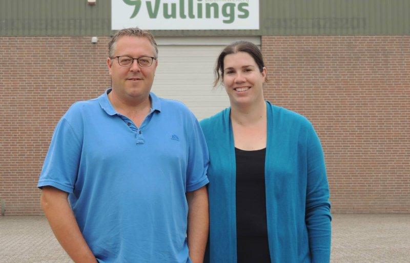 Wim en Jolanda Vullings.