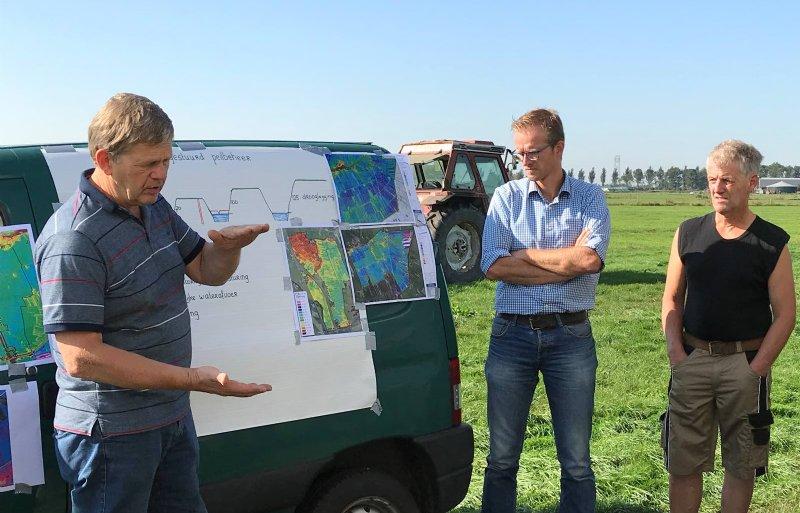 Foppe Hemminga over het project grondwatergestuurd peilbeheer.