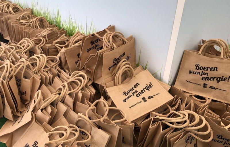 De tassen van LTO waren erg gewild.