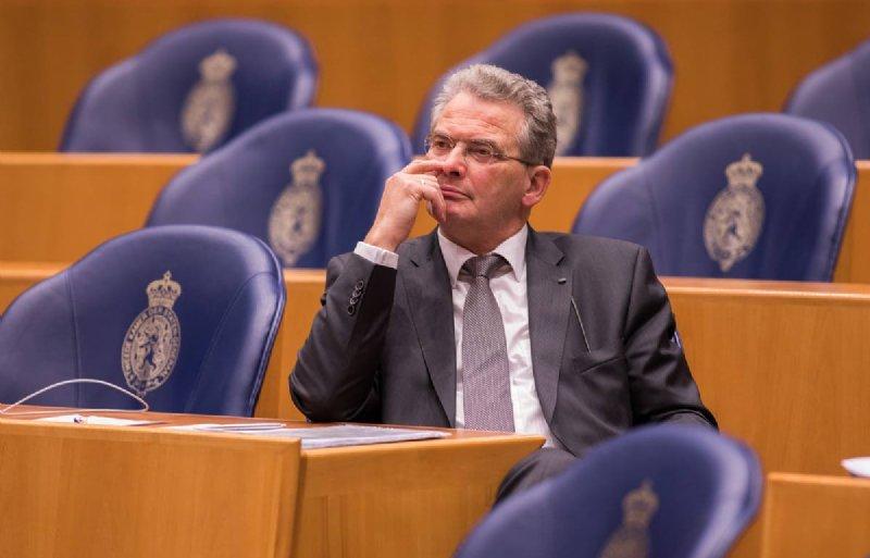 Roelof Bisschop (SGP) tijdens het debat over de landbouwbegroting 2019 in de Tweede Kamer.