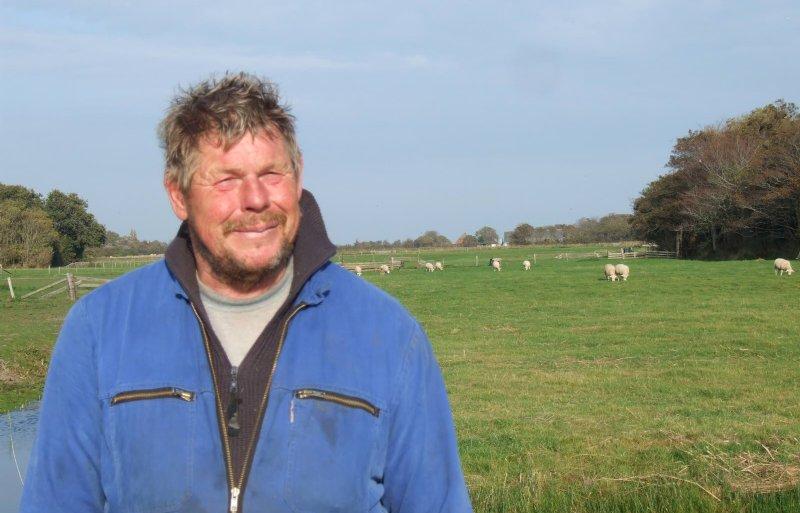 Martin Kikkert, schapenhouder op Texel