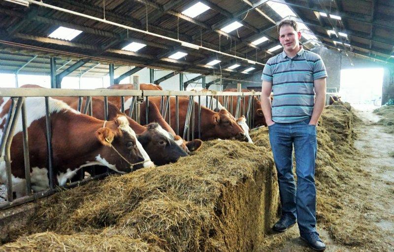 Wilbert Litjens, melkveehouder in Puiflijk